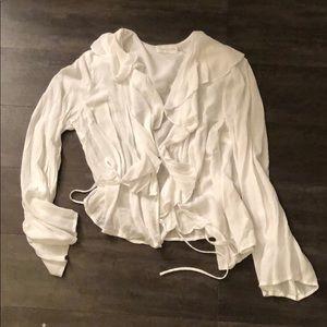 White tie top